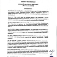 Resolución Nro. C.U. 575-2018-UCACUE