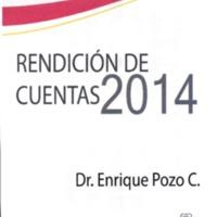 Rendición de Cuentas 2014