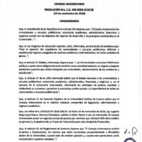 Resolución Nro. C.U. 585-2018-UCACUE