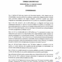 RESOLUCIÓN C.U. 446-2017 - UCACUE
