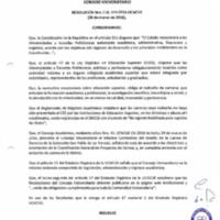 RESOLUCIÓN C.U. 319-2016-UCACUE