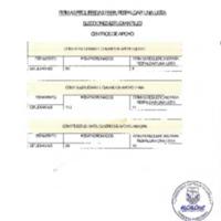 Firmas requeridas para respaldar una lista - Elecciones Estudiantiles - Centros de Apoyo