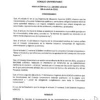 RESOLUCIÓN C.U. 160-2015-UCACUE