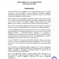 RESOLUCIÓN C.U. 254-2015-UCACUE