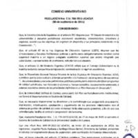 RESOLUCIÓN C.U. 266-2015-UCACUE