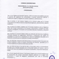 RESOLUCIÓN C.U. 164-2015-UCACUE