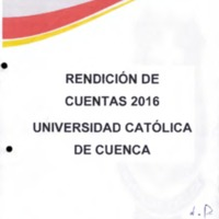 Rendición de Cuentas 2016