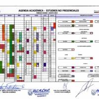 Calendario Académico de Estudios no Presenciales
