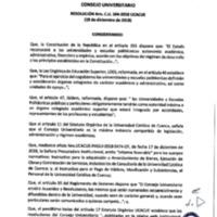 Resolución Nro. C.U. 594-2018-UCACUE