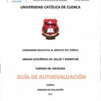 Guía de Autoevaluación de la Carrera de Medicina Matriz Cuenca