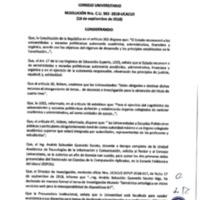 Resolución Nro. C.U. 563-2018-UCACUE<br /><br />