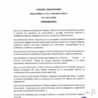 RESOLUCIÓN C.U. 073-2014-UCACUE