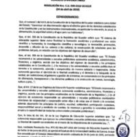 Resolución Nro. C.U. 638-2019-UCACUE