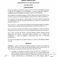 RESOLUCIÓN C.U. 070-2014-UCACUE