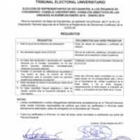 Requisitos - Estudiantes para Cogobierno