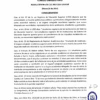 RESOLUCIÓN C.U. 036-2014-UCACUE