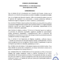 RESOLUCIÓN C.U. 368-2016-UCACUE