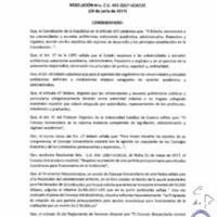 RESOLUCIÓN C.U. 442-2017 - UCACUE
