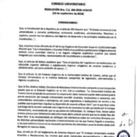 Resolución Nro. C.U. 566-2018-UCACUE<br /><br />