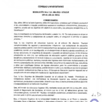 RESOLUCIÓN C.U. 246-2015-UCACUE
