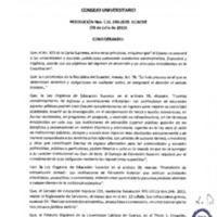 RESOLUCIÓN C.U. 243-2015-UCACUE