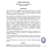 RESOLUCIÓN C.U. 177-2015-UCACUE