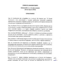 RESOLUCIÓN C.U. 175-2015-UCACUE