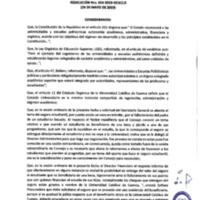 Resolución Nro. C.U. 654-2019-UCACUE