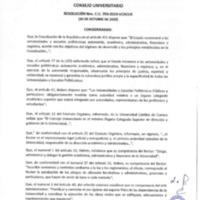Resolución Nro. C.U. 790-2019-UCACUE