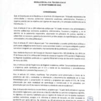 Resolución Nro. C.U. 736 -2019-UCACUE