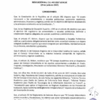 RESOLUCIÓN C.U. 443-2017 - UCACUE