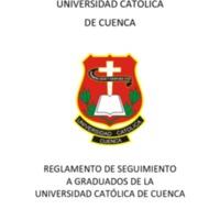 Reglamento de Seguimiento a Graduados de la UCACUE