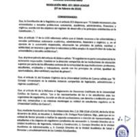 Resolución Nro. C.U. 621-2019-UCACUE