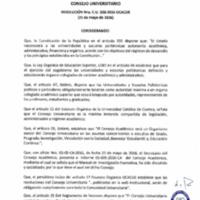 RESOLUCIÓN C.U. 338-2016-UCACUE