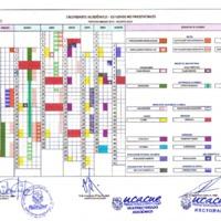 Calendario Académico marzo 2019 - agosto 2019 - Modalidad a Distancia