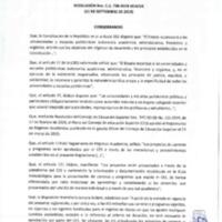 Resolución Nro. C.U. 738 -2019-UCACUE