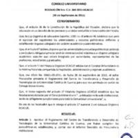 RESOLUCIÓN C.U. 264-2015-UCACUE