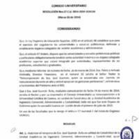 RESOLUCIÓN C.U. 037-2014-UCACUE