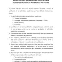 INSTRUCTIVO PRESENTACIÓN TRABAJOS Y PRUEBAS POSTERGADAS