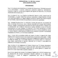 RESOLUCIÓN C.U. 385-2016-UCACUE