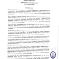Resolución Nro. C.U. 669-2019-UCACUE