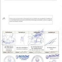 Procedimiento para elaboración y presentación de proyectos de investigación científica