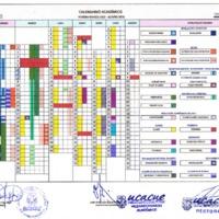 Calendario Académico marzo 2019  - agosto 2019 - Modalidad Presencial