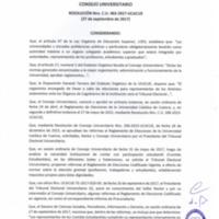 Resolución C.U. 463-2017 - UCACUE
