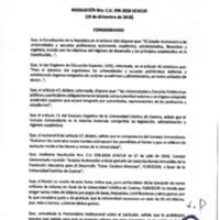 Resolución Nro. C.U. 596-2018-UCACUE