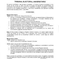 Cronograma - Tribunal Electoral