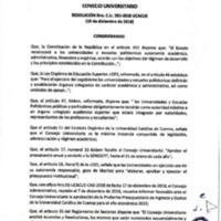 Resolución Nro. C.U. 593-2018-UCACUE