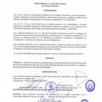 RESOLUCIÓN C.U. 407-2017-UCACUE