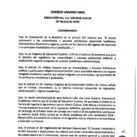 Resolución Nro. C.U. 559-2018-UCACUE