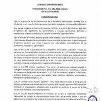 RESOLUCIÓN C.U. 365-2016-UCACUE